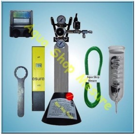 Kit CO2 450 L. + Testeur PH