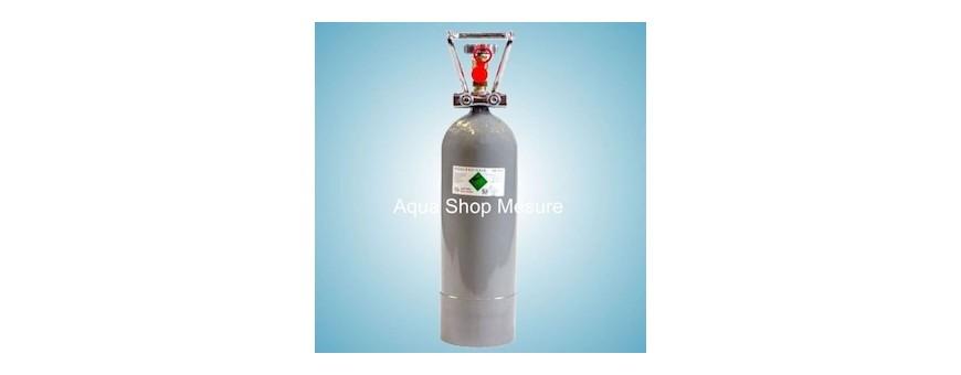 Les bouteilles de CO2
